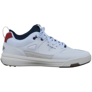 Pepe Jeans Herren Sneaker PMS30572 Weiß