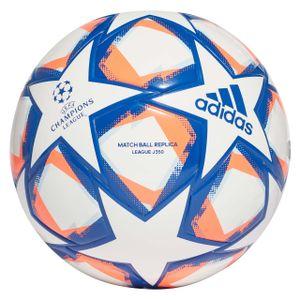 adidas Fußball UCL Finale 20 Junior 350 Weiß / Blau / Orange 5