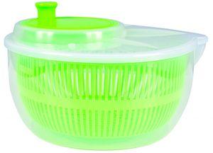 Salatschleuder mit Kurbel und Sieb Salat Schleuder Trockner Salattrockner, Farbe:Grün