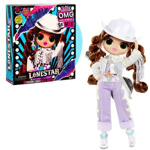 MGA Entertainment L.O.L. Surprise OMG Remix- Doll 1- Lonestar