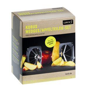 Lurch Germany Kubus Wedges/Apfelteiler ZubehörSet steingrau