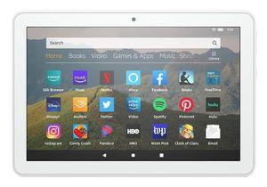 Amazon Fire HD 8, 20,3 cm (8 Zoll), 1280 x 800 Pixel, 32 GB, 2 GB, 2 GHz, Weiß