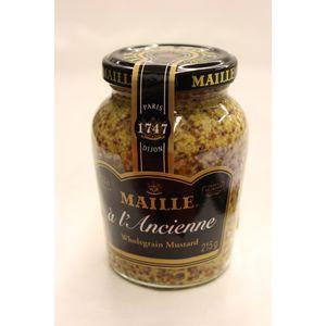 Maille A l'Ancienne Wholegrain Mustard 210g Glas (Senf mit ganzen Körnern)