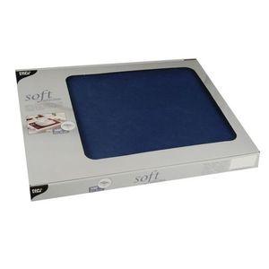 600 Tischsets, stoffähnlich, Vlies  soft selection  30 cm x 40 cm dunkelblau