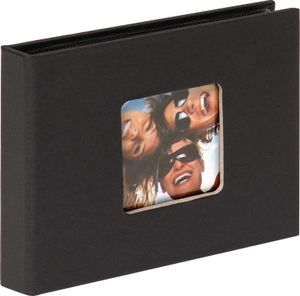 Walther Fun schwarz        10x15 Mini Album für 36 Fotos   MA353B