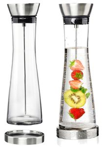 Flirt by R & B Glaskaraffe LENO mit Fruchtspieß 1,3 Liter