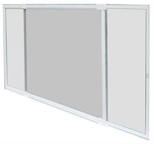 Schellenberg Insektenschutz-Schiebefenster  H 50 x B 75-142 cm, weiß