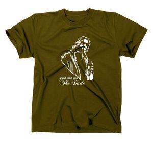 Styletex23 T-Shirt #2 The Big Lebowski The Dude Kult Funshirt oliv L