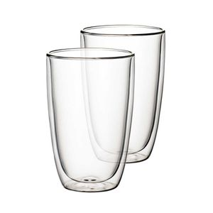 Villeroy & Boch Artesano Hot&Cold Beverages Becher Größe XL Set 2 tlg. klar Borosilikatglas,Keramik,Edelstahl 1172438098