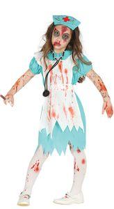 Fiestas Guirca kostüm Zombie Krankenschwester junior Größe 140/148