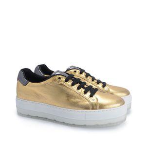 "Diesel Sneaker ""S-Andyes"" -  Y01253 P1081 H4576 / S-Andyes W - Schwarz, Gold-  Größe: 41(EU)"