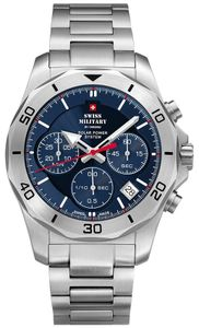 Swiss Military SMS34072.02 Solar Chronograph 44mm 10ATM