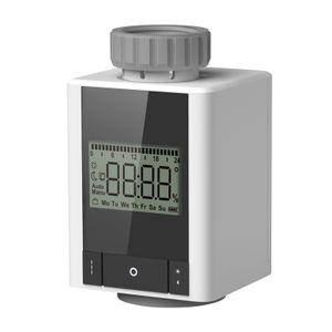 ZigBee Thermostat-Heizkoerperventil Woechentlich programmierbare intelligente Heizung Heizkoerper-Thermostat APP-Steuerung Sprachsteuerung Fensteroeffnung Frostschutzfunktion Funktion fuer konstante Innentemperatur