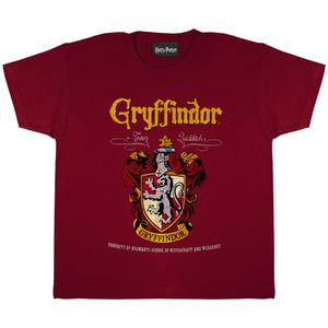Harry Potter - Gryffindor T-Shirt für Mädchen PG669 (116) (Burgunder)