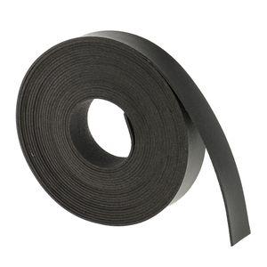 5m Lederschnur, Flacher Ledergürtel. Gürtel Leder, Flacher Riemen 20mm DIY Ledergürtel Farbe Schwarz