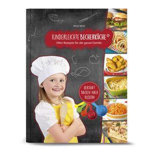 """Kinderleichte Becherküche - Back-Set groß 6-tlg. herzhafte Rezepte - Ofengerichte für die ganze Familie - Bekannt aus """"Die Höhle der Löwen"""""""