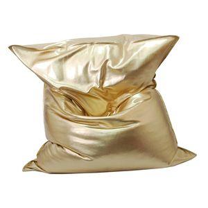 Riesensitzsack MR. BIG 130 x 170 cm, Metallic Gold oder Silber Gold