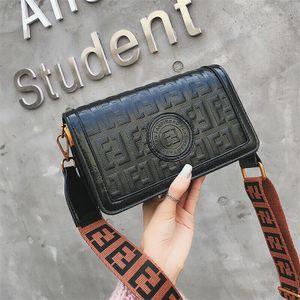 Handtaschen Luxus Tasche Messenger Bags Damen Leder Crossbody Schulter Designer-Schwarz