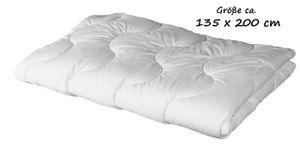 Steppbett 135x200 Bettdecke Microfaser  Decke Allergicker geeignet
