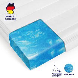 Orthopädischer Gelschaum Topper für Ihre Matratze von Mister Sandman 180x200 mit Mikrofaser Bezug