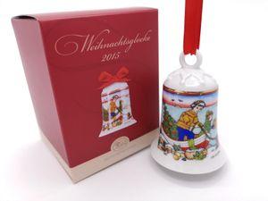 Porzellanglocke Weihnachtsglocke 2015 - Hutschenreuther - in