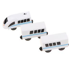 3x Elektrische Zug / Eisenbahn Spielzeug Spielzeugeisenbahn für Kinder ab 3 Jahre Alt, aus Kunststoff