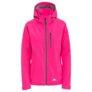 Trespass Damen Softshell-Jacke Lorina, wasserfest TP4096 (L) (Pink)