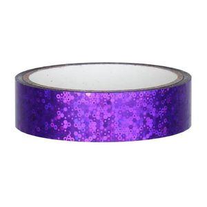 Glitter Deko Klebeband 25mm x 30m, Violett
