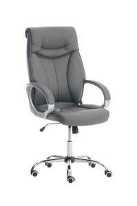 Bürostuhl CP228, Bürosessel Drehstuhl  grau