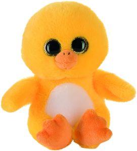 Bauer Spielwaren Plüschtier Glitzer Ente (gelb, 15cm)
