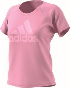 adidas Performance Damen Sport T-Shirt TRAINING LOGO TEE pink, Größe:M