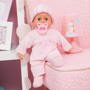 Bayer Design Babypuppe First Words rosa 38 cm, BD93800-R