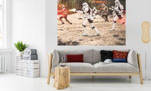 "Komar Digitaldruck Vliestapete ""Star Wars Imperial Strike"", bunt, 200 x 250 cm"