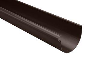 Regenrinnen Komponenten | Dachflächen < 100m² | PVC in 4 Farben | RainWay S, Farben:Braun, Typ:Dachrinne