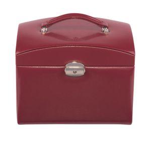 WINDROSE Merino Jewelry Box L Red