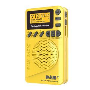 P9 Mini Pocket DAB / FM Digital Radio Digitaler FM-Demodulator mit LCD-Display Tragbarer MP3-Player TF-Kartensteckplatz