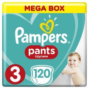 Pampers Pants, Größe 3 Midi, 120 Windeln