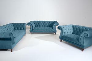 Max Winzer Ivette Sessel - Farbe: petrol - Maße: 167 cm x 100 cm x 80 cm; 2994-1100-2044217-F07