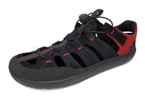 Sole Runner FX Trainer Sandale, Size:45, Color:Black/Red