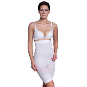 Miss Perfect Shapewear Damen - Miederhose Damen (XS-XXL) Body Shaper Damen Bauchweg Unterhose Damen Bodyshaper für Frauen - figurformend, Größe:42 (L), Farbe:Weiß (WH)