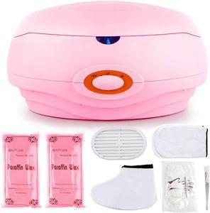 SPEED Paraffinbäder Wachsbad für Hände und Füße mit Zubehör 150W - Rosa