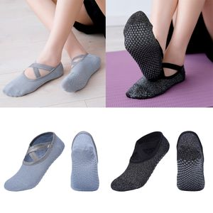 2 Paar Rutschfeste Yoga Socke Barre Pilates Barre Grips Ballett Socke Für Frauen
