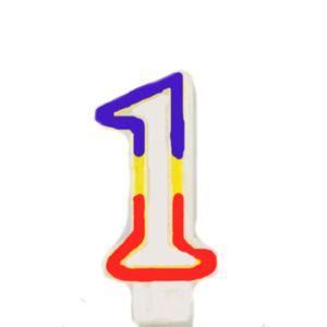 Geburtstag Zahlenkerze 1