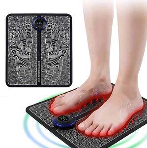 Fußmassageräte,EMS Elektrisches Fußmassagegerät, Intelligente Fussmassagegerät Elektrisch Massagematte ,Fußmassage für die Durchblutung Muskelschmerzen Linderung Muskel-Stimulatior