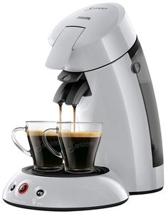 Philips HD6554 / 51 Kaffeepadmaschine Senseo Original Hellgrau 0, 75 Liter