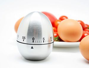 60 Min. Kurzzeitmesser Ei Küchentimer Eieruhr mechanisch Timer Kochuhr