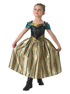 RUBIE'S Faschingskostüm Anna tion Dress Frozen Child, Größe: M