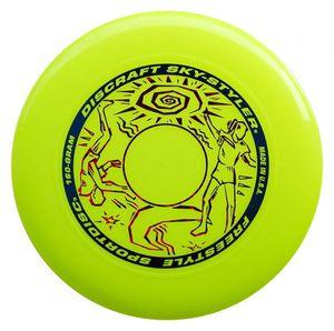 Discraft frisbee Sky Stylerjunior 160 Gramm 27 cm gelb