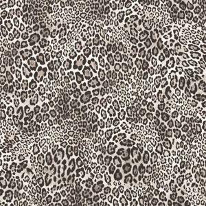 Noordwand Tapete Leopard Print Schwarz