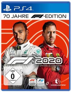 Codemasters Sony Playstation 4 PS4 Spiel F1 2020 70 Jahre F1 Edition (USK 0)